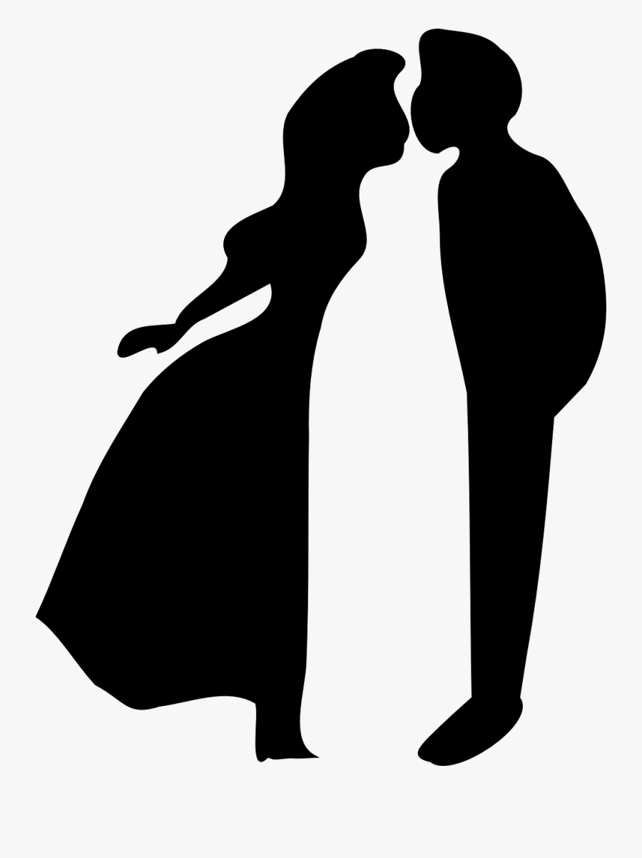Kisses Clipart First Kiss - Love Clip Art Black And White, Transparent Clipart