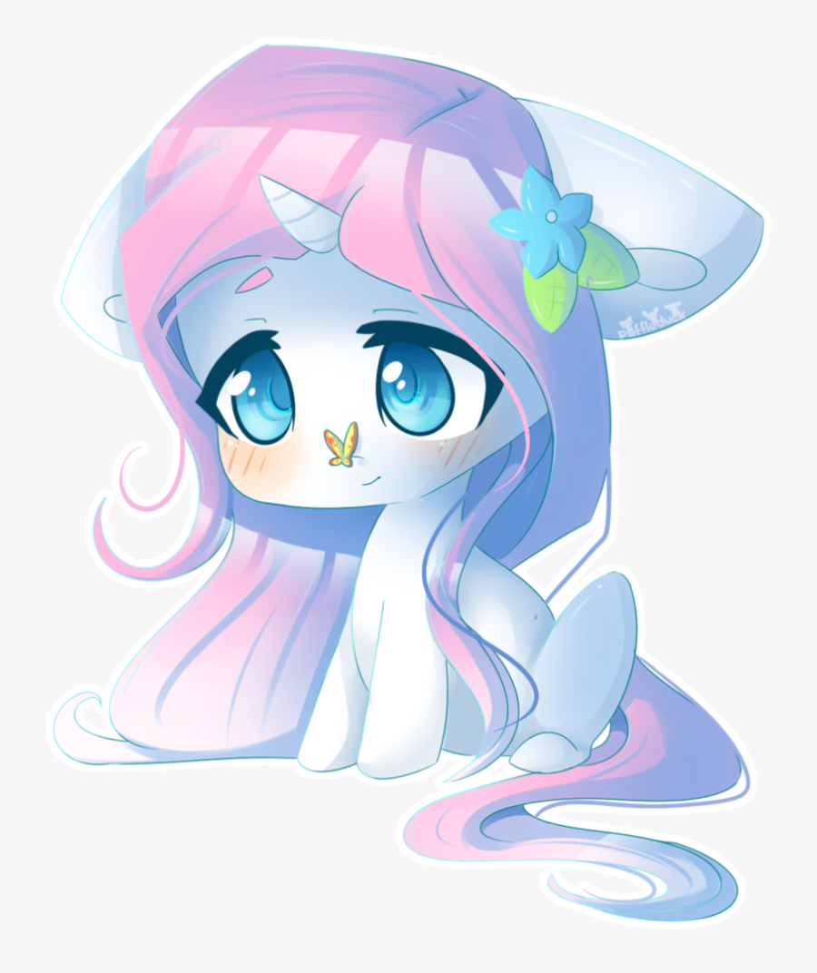 Cute Unicorn Png - Chibi Cute Kawaii Unicorn, Transparent Clipart