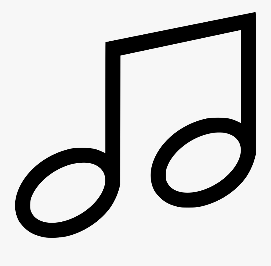 Song Note Png Svg Transparent Library - Musical Note, Transparent Clipart