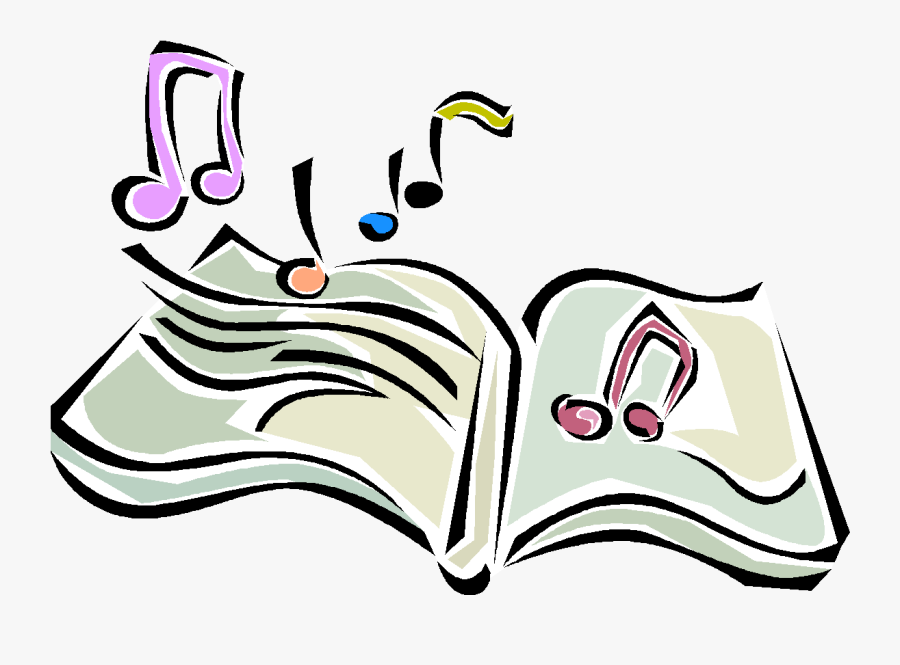 Song Clipart Sound Energy - Music And Books Clip Art, Transparent Clipart