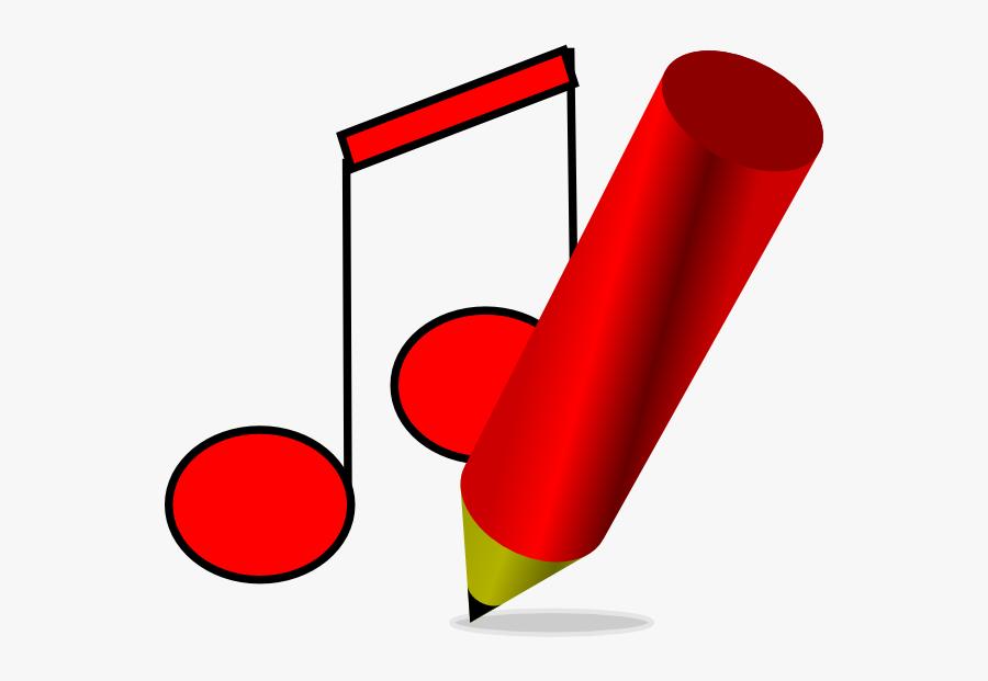 Clip Art Write A Song - Song Writing Clip Art, Transparent Clipart