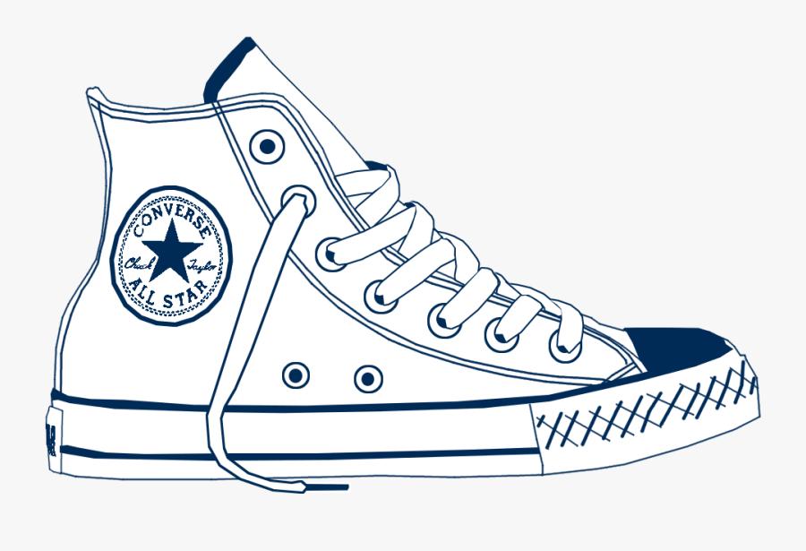 Clip Art Logo Png Chucks Pinterest - Converse Png, Transparent Clipart