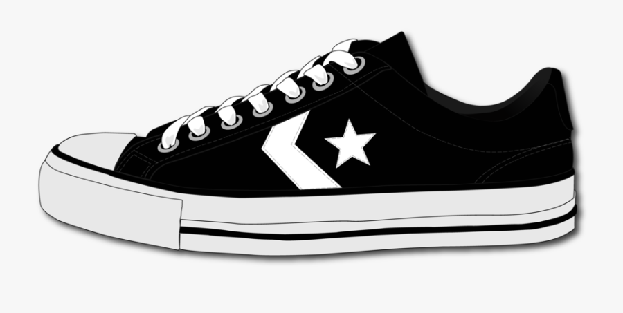Converse Shoe By Schango On Clipart Library - Png Shoes, Transparent Clipart