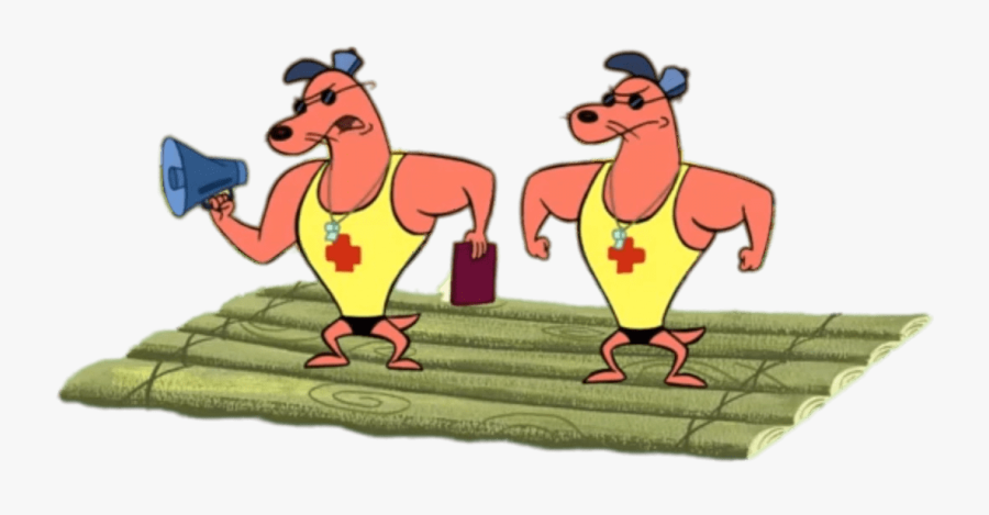 Camp Lazlo Characters Pierre And Noneck On A Raft - Pierre And Noneck Camp Lazlo, Transparent Clipart