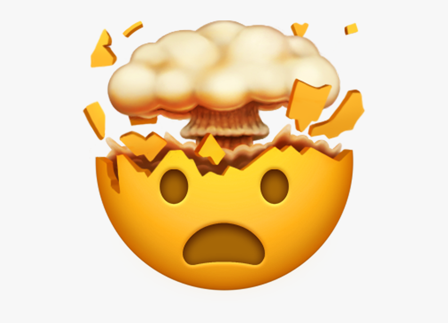 Apple Shows Off Some Of Its New Emoji On World Emoji - New Head Exploding Emoji, Transparent Clipart