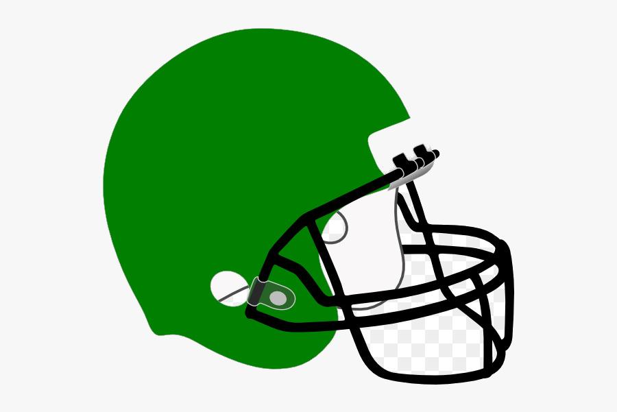 Football Helmet Green Clipart Nfl New England Patriots - Red Football Helmet Clipart, Transparent Clipart