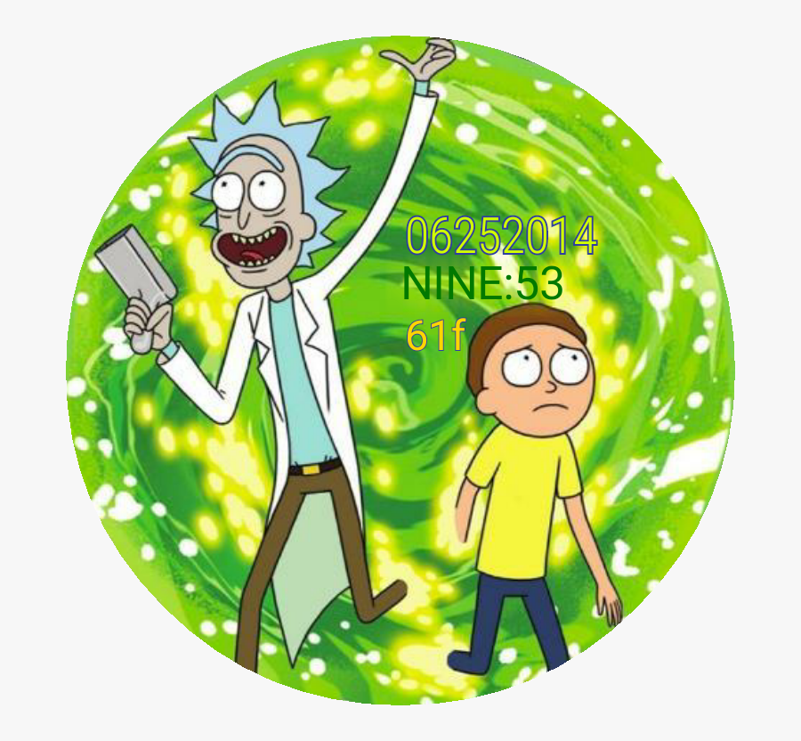 Rick And Morty - Rick Y Morty Icono, Transparent Clipart