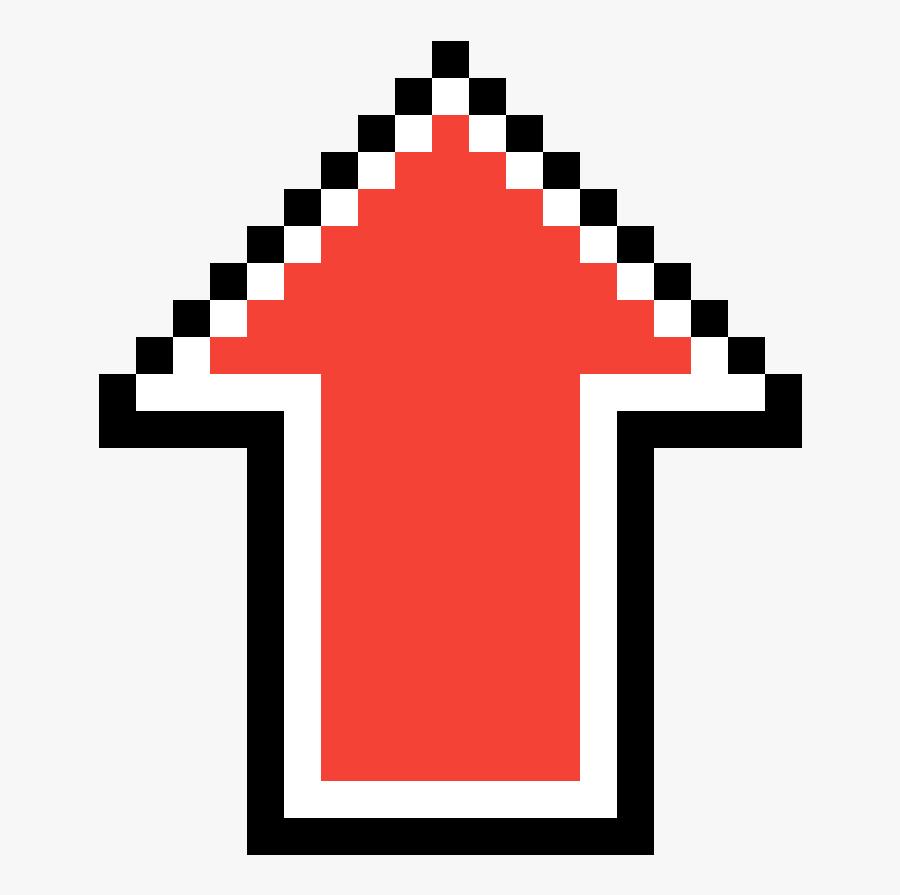 Arrow Pixel Art Clipart , Png Download - Destiny Ghost Pixel Art, Transparent Clipart