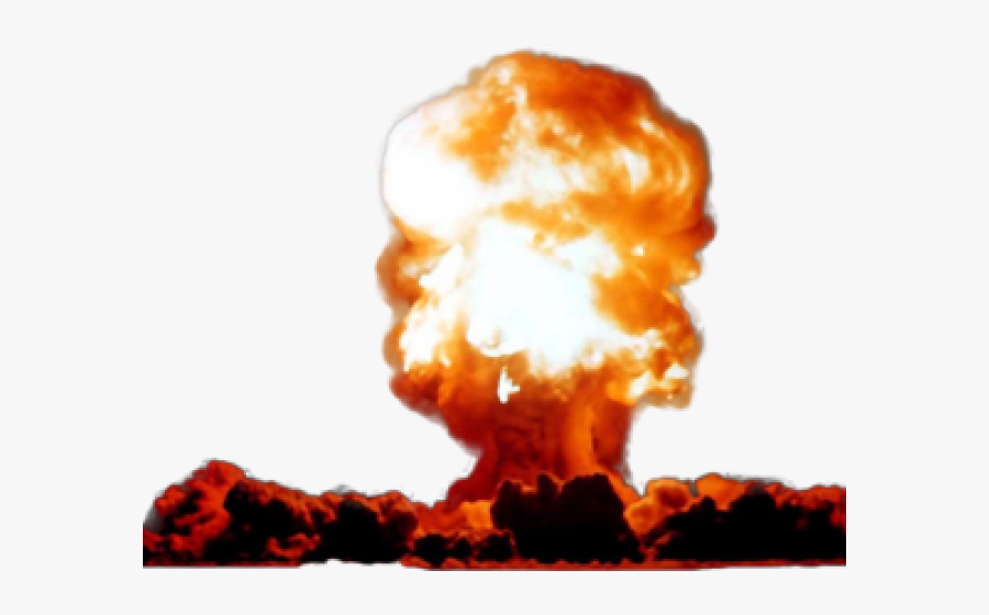 Nuclear Explosion Clipart Real Explosion - Transparent Background Nuclear Explosion Png, Transparent Clipart