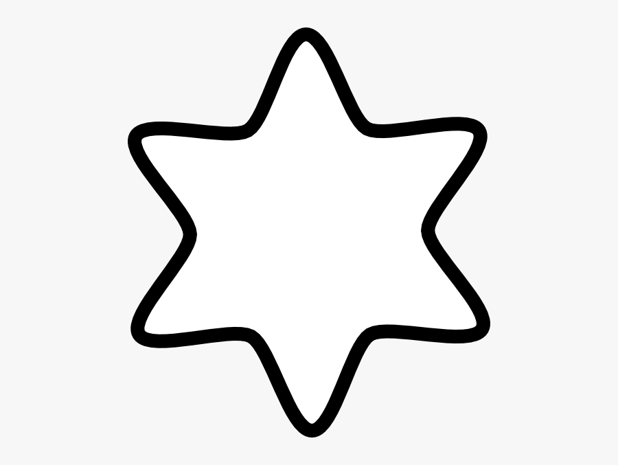 Transparent Star Of David Png - Clipart Of Star Black And White, Transparent Clipart