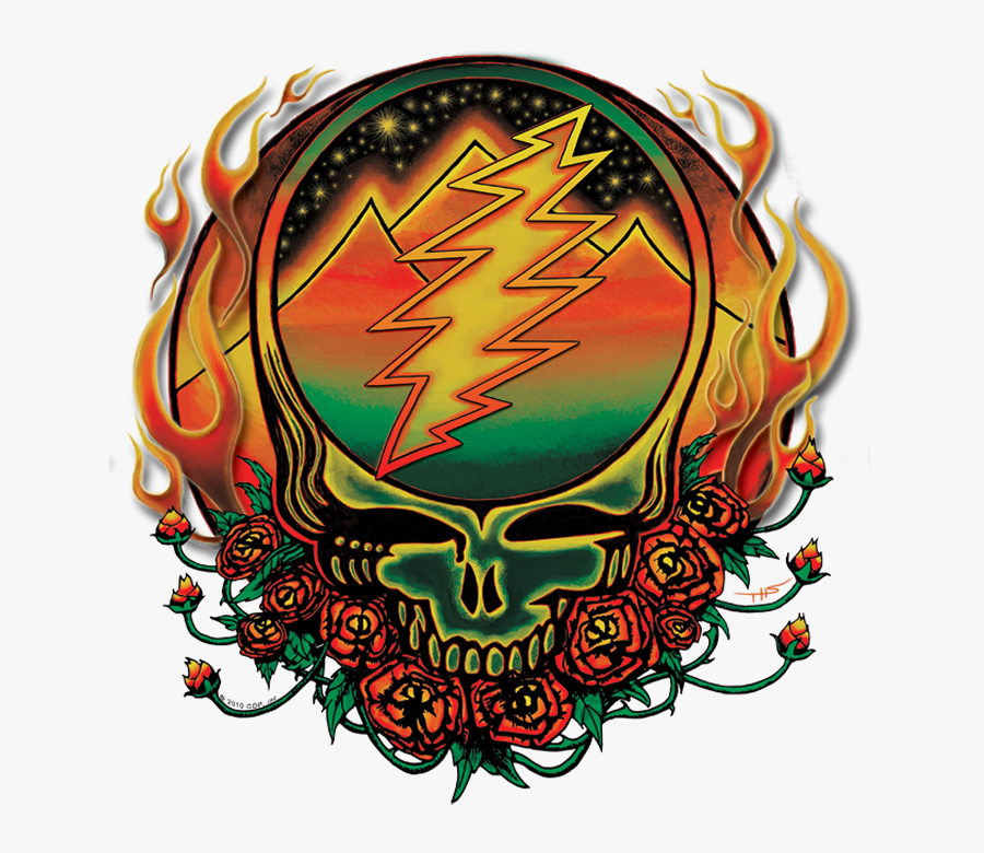 Collections At Sccpre Cat - Grateful Dead Steal Your Face Art, Transparent Clipart