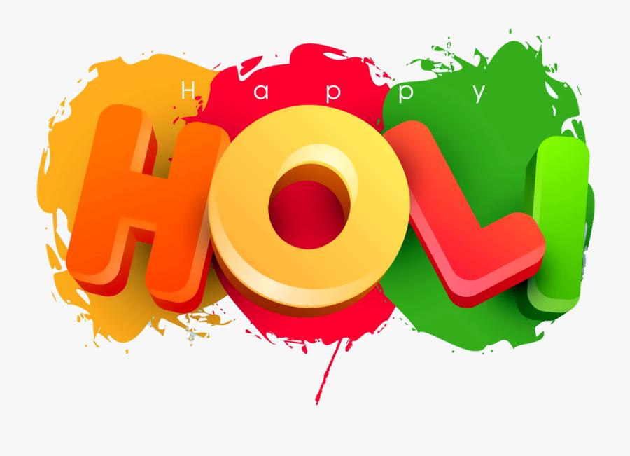 Transparent Holi Images Png - 1080p Happy Holi Hd, Transparent Clipart