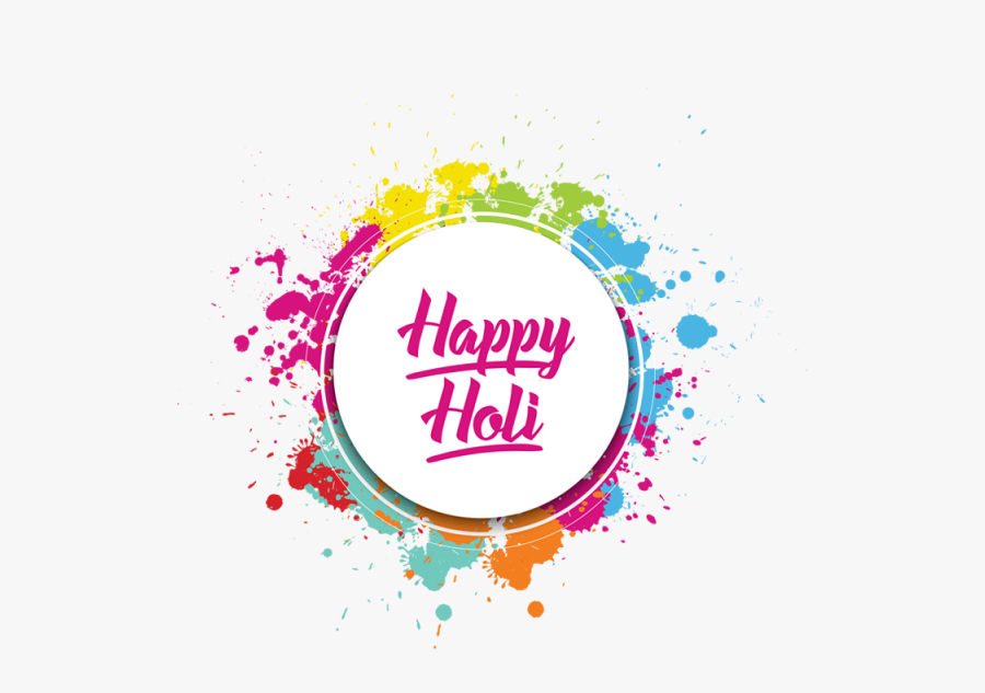 Festival Clipart Holi - Holi Color Splash Png, Transparent Clipart