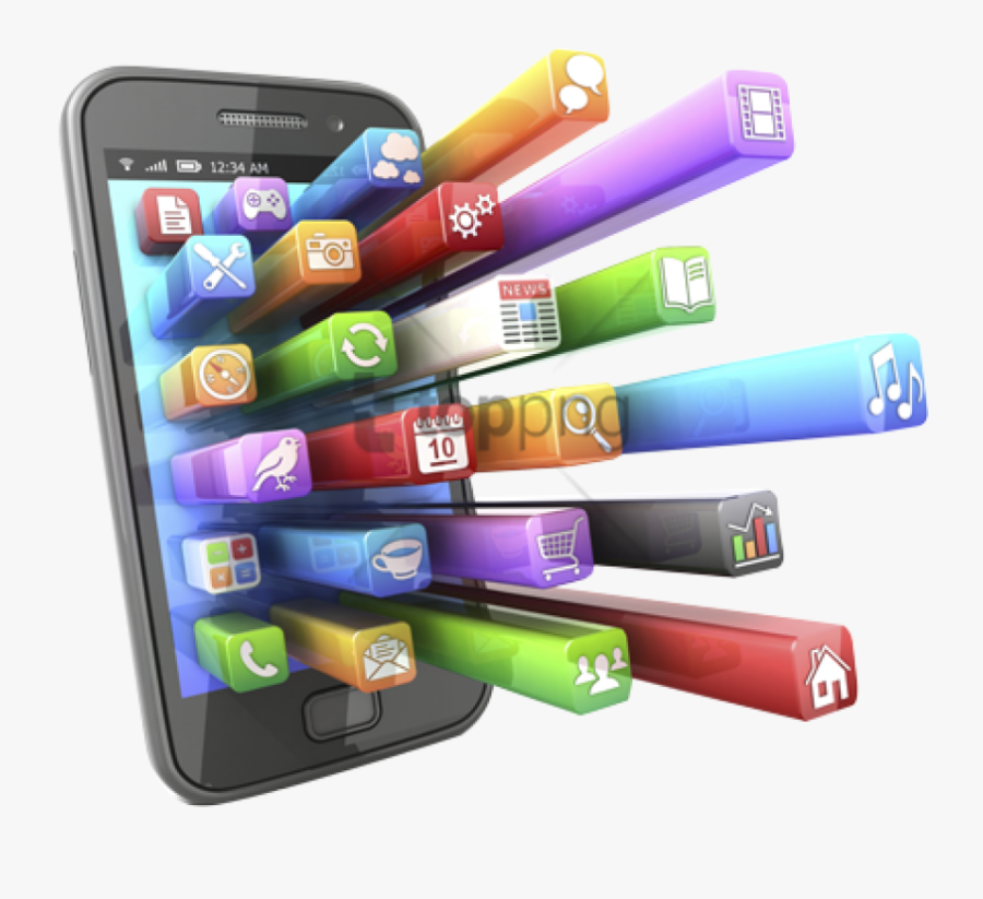 Transparent Old Cell Phone Clipart - Mobile Phone Apps, Transparent Clipart
