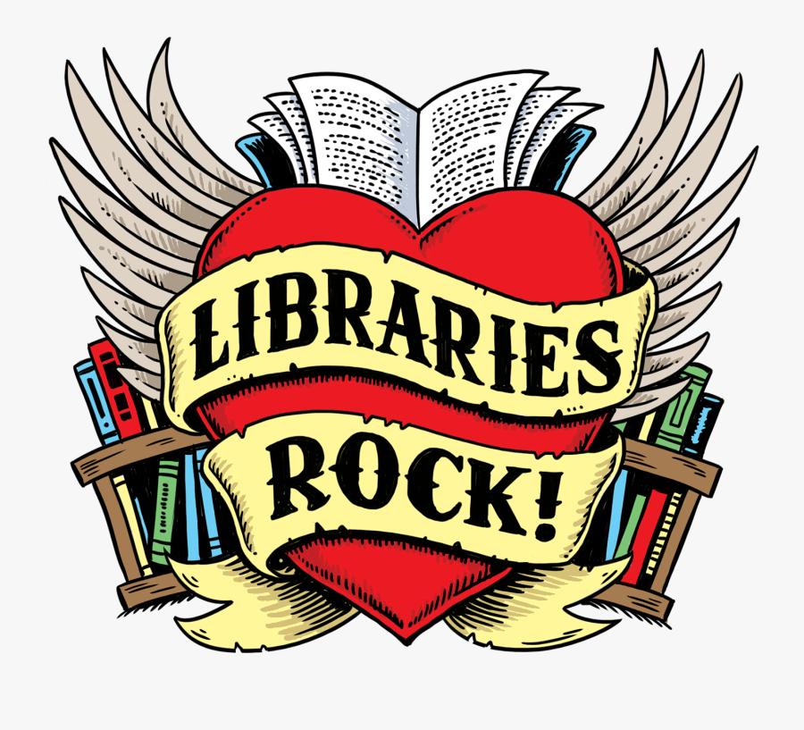 Libraries Rock Summer Reading Program, Transparent Clipart