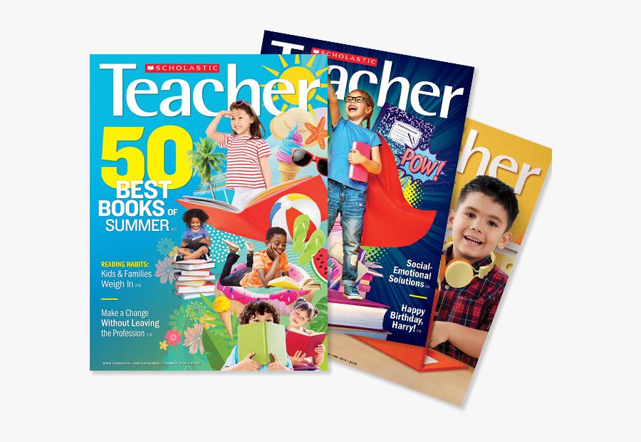 Scholastic Teacher Magazine 2018, Transparent Clipart