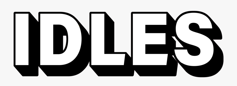 Welcome To Twickets - Idles Band Logo, Transparent Clipart