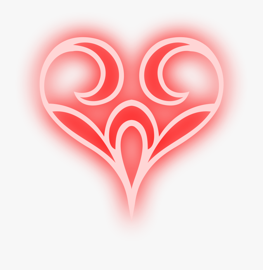 Abstract Heart 4 Clipart Free Stock - Heart, Transparent Clipart