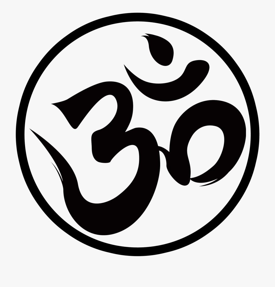 Om Png Logo - Om Symbol, Transparent Clipart