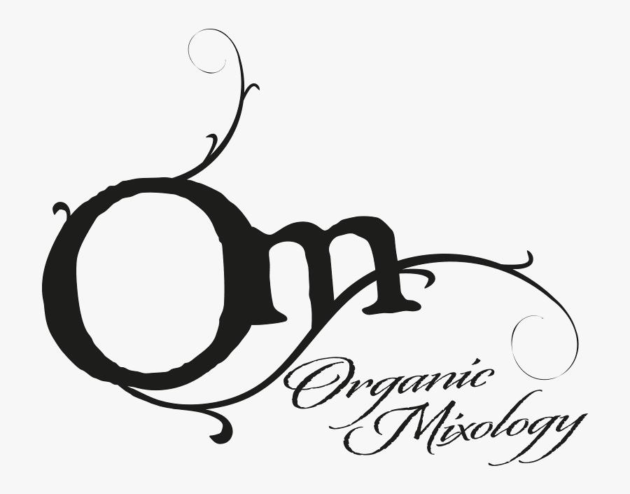 Logo - Om Organic Mixology Logo, Transparent Clipart