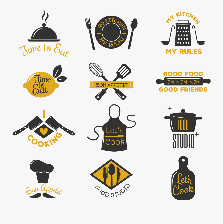 Hd Cooking And Catering Logo Icons - Logo Catering, Transparent Clipart