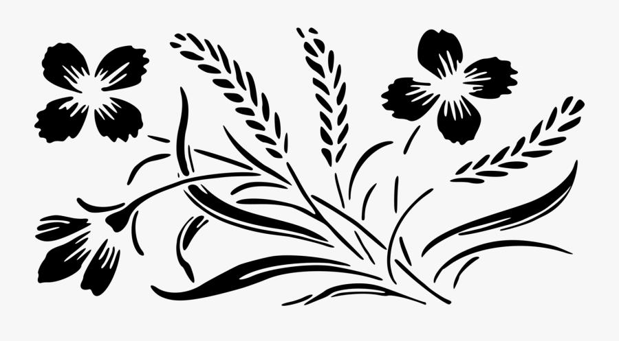 Transparent Wedding Flowers Clipart - Flower Design In Colour, Transparent Clipart