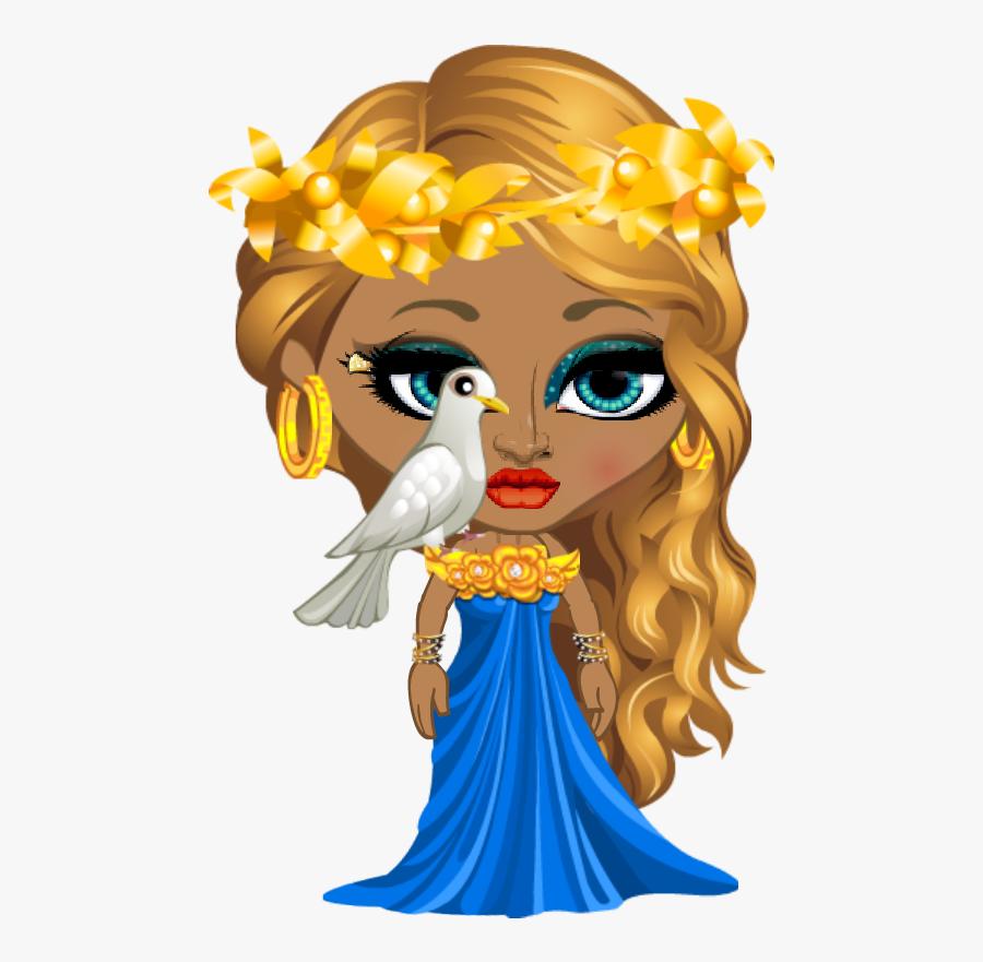 Hd Goddess Of Love - Mythology Aphrodite God Cartoon ...