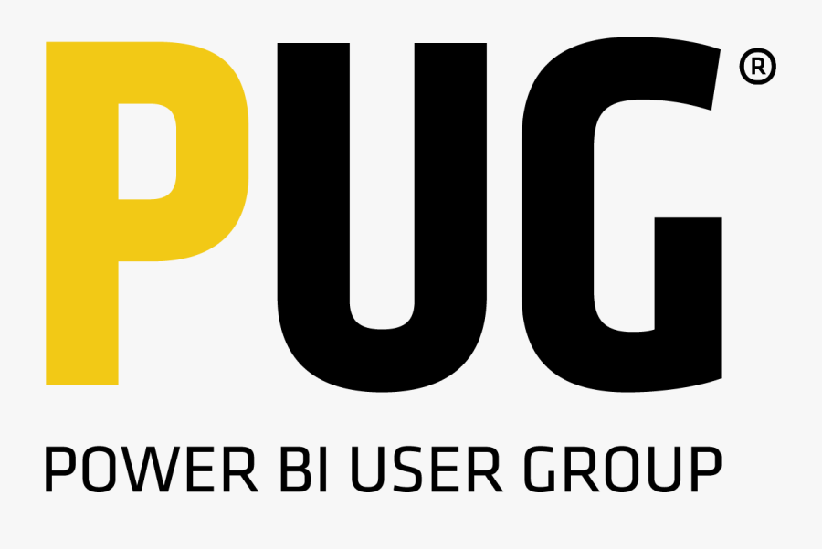 Pug Logo Wtag - Power Bi User Group Logo, Transparent Clipart