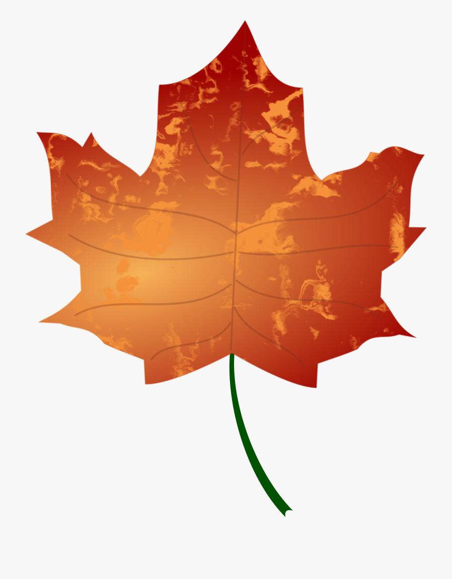 Leaf Vector Files Image - Autumn Leaf Vector Png, Transparent Clipart
