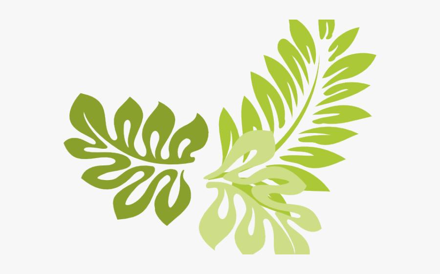 Transparent Jungle Frame Clipart - Leaves Border Design Transparent, Transparent Clipart
