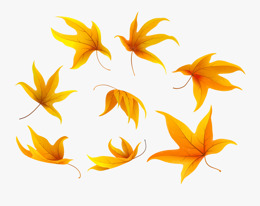 Clipart Halloween Leaves - Portable Network Graphics, Transparent Clipart