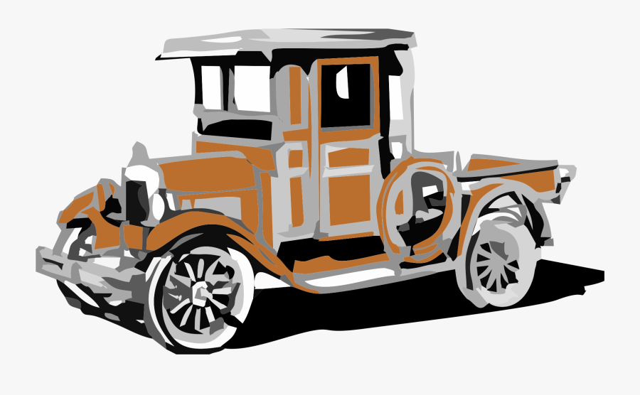 Ford Clipart Quadricycle - Ford Model T Drawing, Transparent Clipart