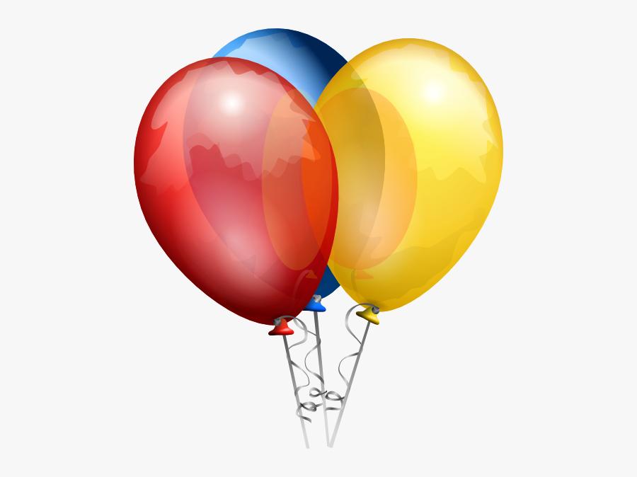 Birthday Balloons, Transparent Clipart
