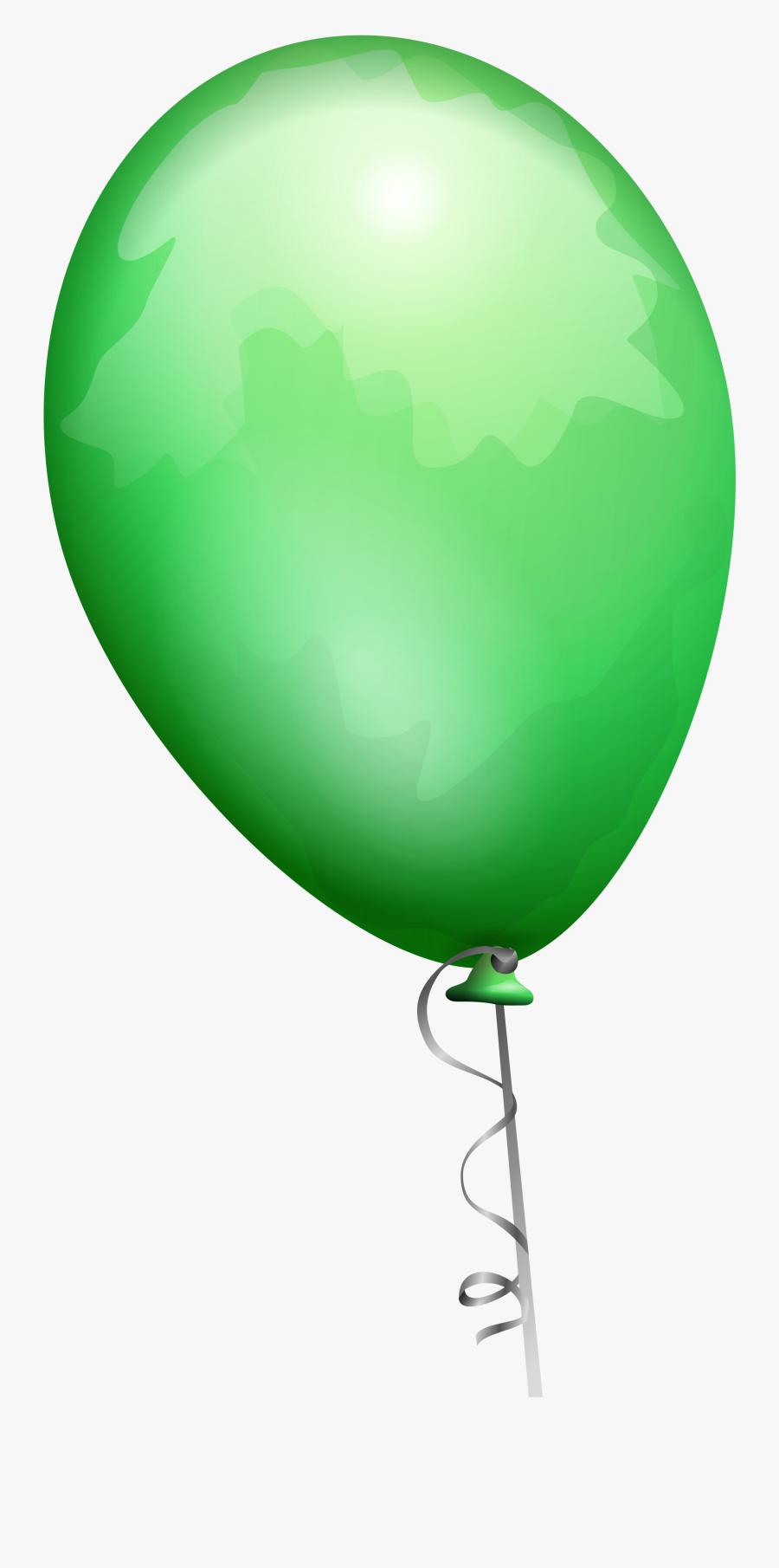 Ballon Clipart Green - Balloon Clip Art, Transparent Clipart