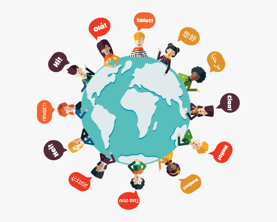 Identifying Low And High Context Communication Part - Communicate Around The World, Transparent Clipart