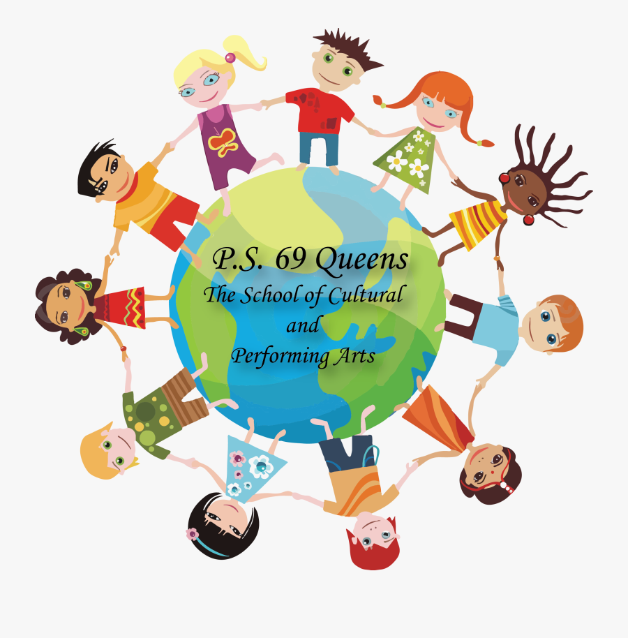 Kids Around The World - Build Sense Of Community, Transparent Clipart