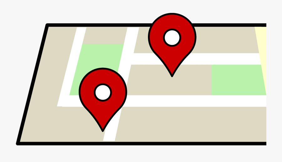 Places Around The World That Share - Google Maps Dibujo, Transparent Clipart