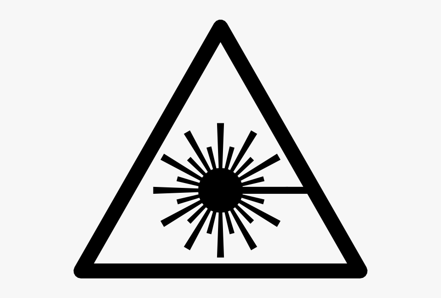 Laser Symbol, Transparent Clipart