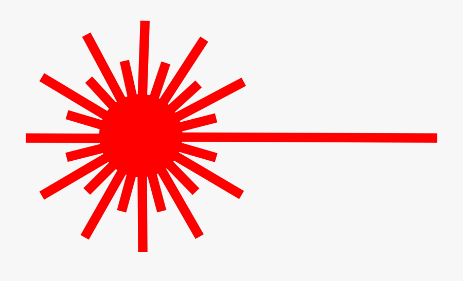 Clip Art Laser Beam Logo - Laser Symbol Svg, Transparent Clipart