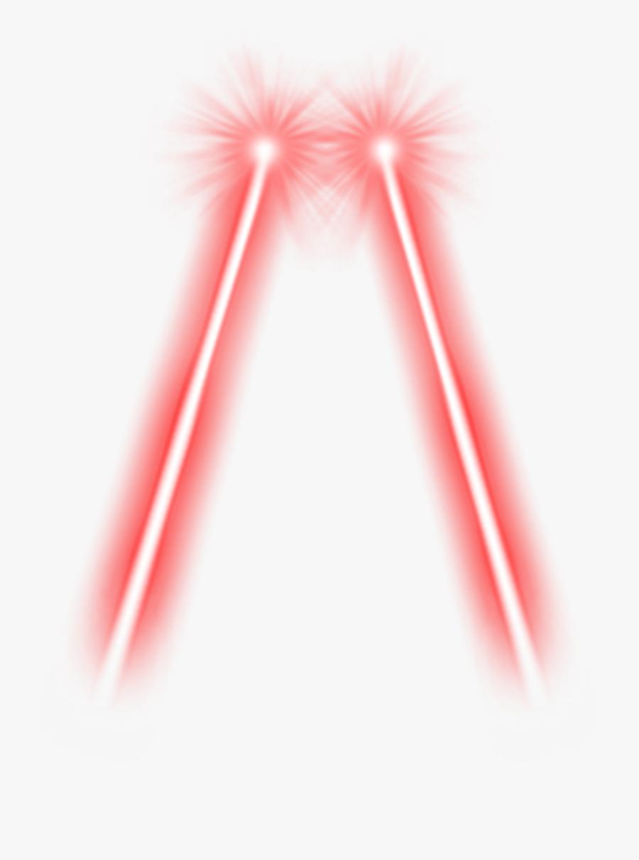 Red Laser Transparent - Red Laser Eyes Png, Transparent Clipart