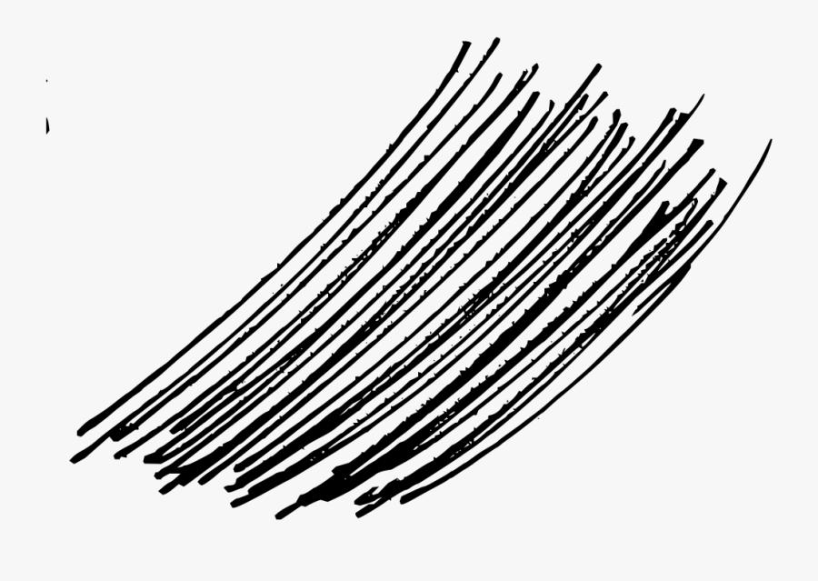 Line Art,monochrome Photography,line - Hair Lines Png, Transparent Clipart