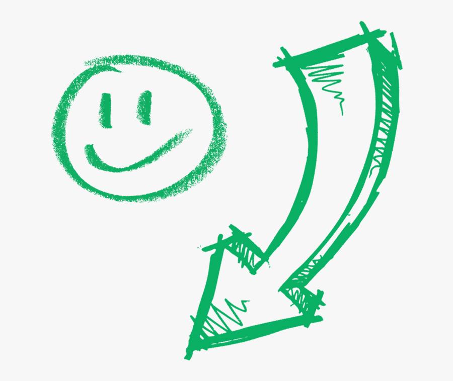 Hand Drawn Arrow Lines 5a29364090cd93 - Green Arrow Drawn Png, Transparent Clipart