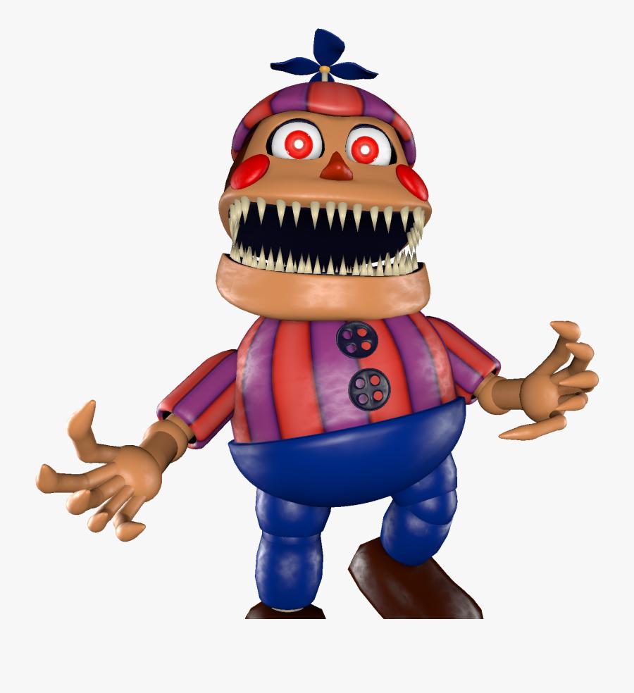 Transparent Ballons Clipart - Nightmare Balloon Boy Sfm, Transparent Clipart