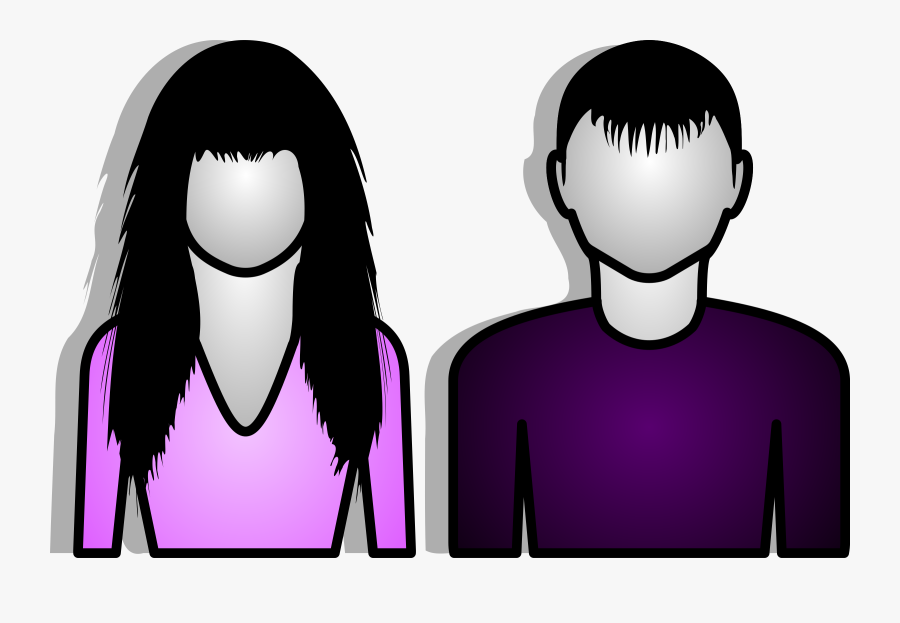 Male And Female Clipart, Transparent Clipart