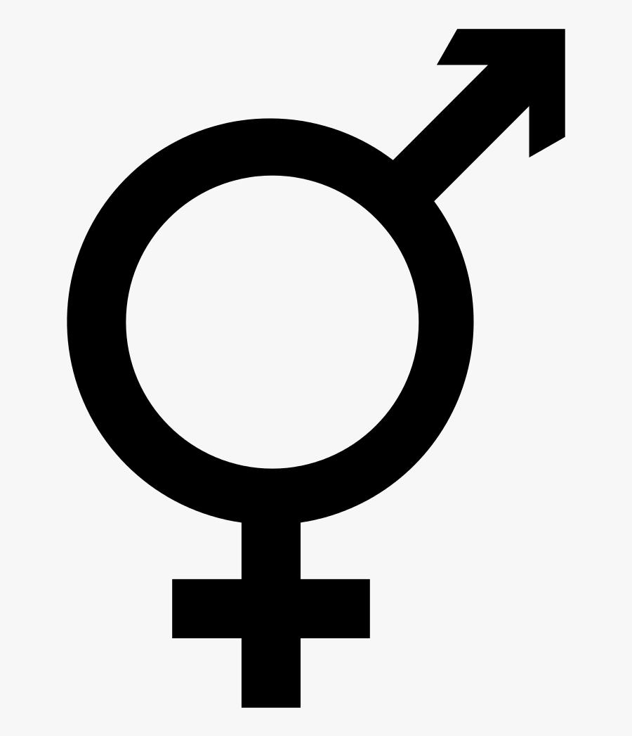 Clip Art Lgbt Equality Symbol - Male Female Symbols Together, Transparent Clipart