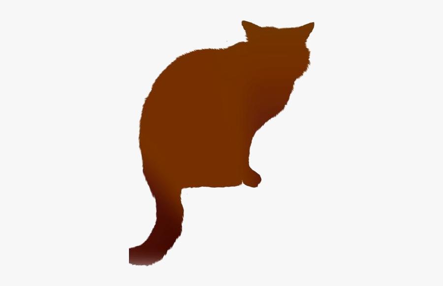 Transparent Cat Sitting Clipart Png - Cat Yawns, Transparent Clipart