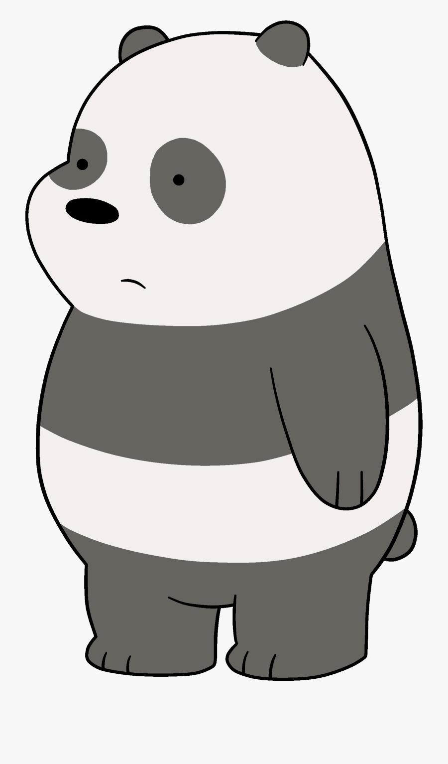 Panda From We Bare Bears - We Bare Bears Panda Cub, Transparent Clipart
