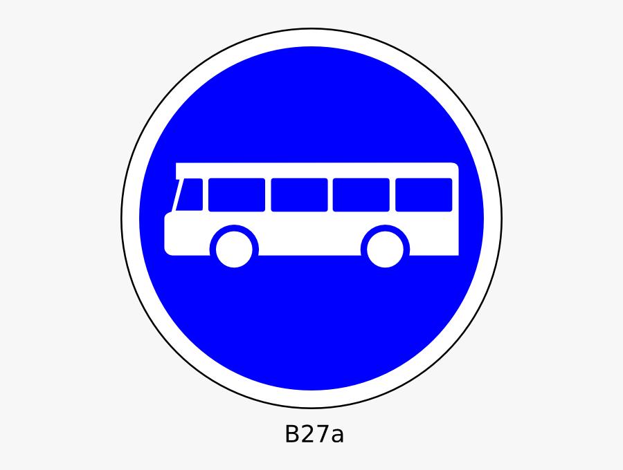 Transparent Bus Station Clipart - Bus Stop Road Signs, Transparent Clipart
