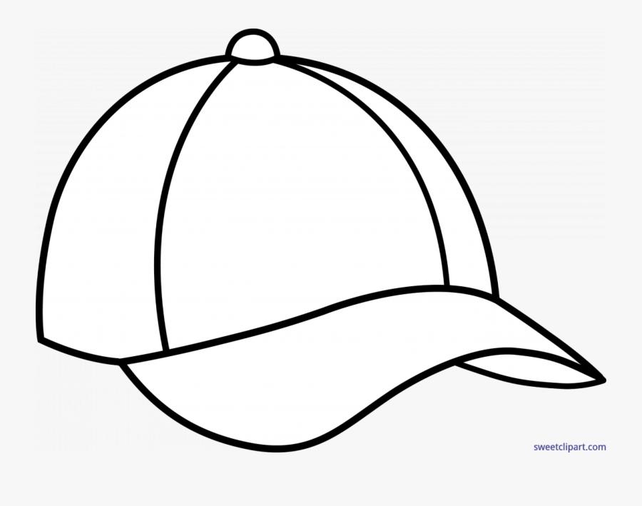Cartoon Baseball Cap Drawing, Transparent Clipart