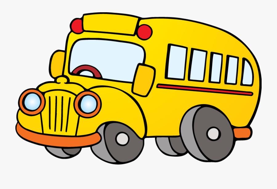 Pyburn - Cartoon Bus Png, Transparent Clipart